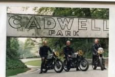 Wilky, PJ & Alan H - Cadwell Park Racetrack UK