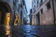 Slippy streets when wet
