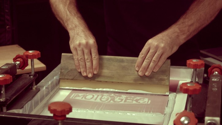 Hand printing gives the truly personal touch