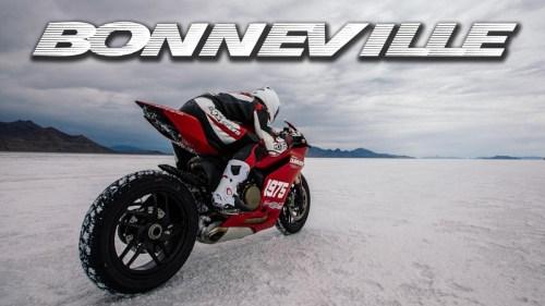 Bonneville Salt Flats 1199 Ducati Panigale
