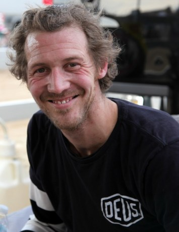 Dimitri Coste, a great guy and racer.