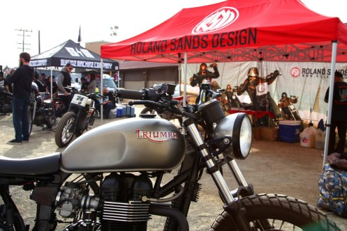 RSD put on a great display of bikes.