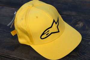 Alpinestars Retro Yellow logo cap (Rare!)