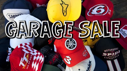 Garage Sale Caps Main Image