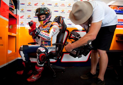 Alpinestars capture video - Marquez