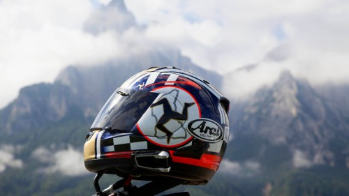 Arai TT rep and Scala Rider