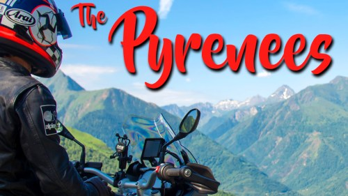 The Pyrenees / BMW R 1200 GS