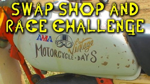 Swap Shop & Race Challenge / MotoGeo Adventures