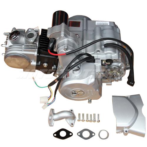 110cc Chinese Atv Wiring Diagrams 125cc 4 Stroke Engine Motor Auto W Reverse Electric