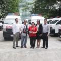 Nissan Philippines  Turns Over Urvan Ambulances to DOH