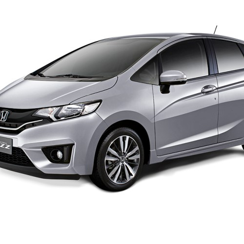 The Honda Jazz – Lunar Silver Metallic