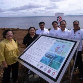 Caltex Poro Marine Protected Area Marker Unveiled –  Declares Environmental Sustainability Measures