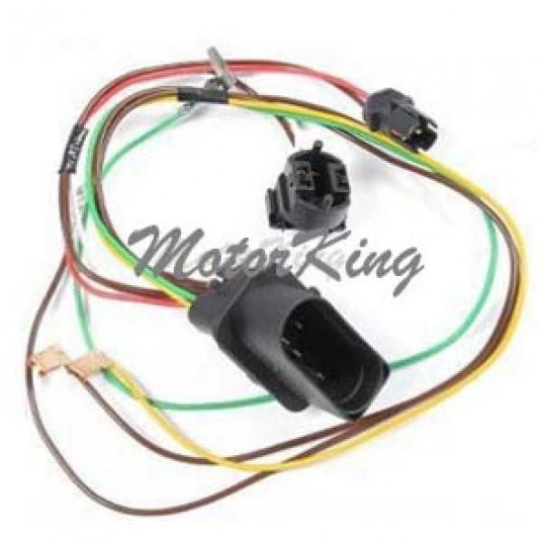 01-05 VW Passat Front Left Headlight Head Lamp Wiring Harness