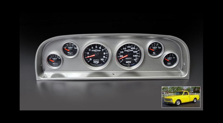 New Instrument Panels for 1960-1963 Chevy Pickup Motorator