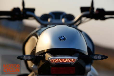 photos of BMW R nineT tail lamp