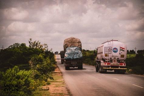 Bangalore Hampi Highway Traffic