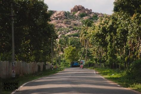 First rocks as you do Bangalore Hampi