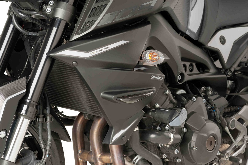 PUIG Radiator Side Panels - Yamaha MT-09