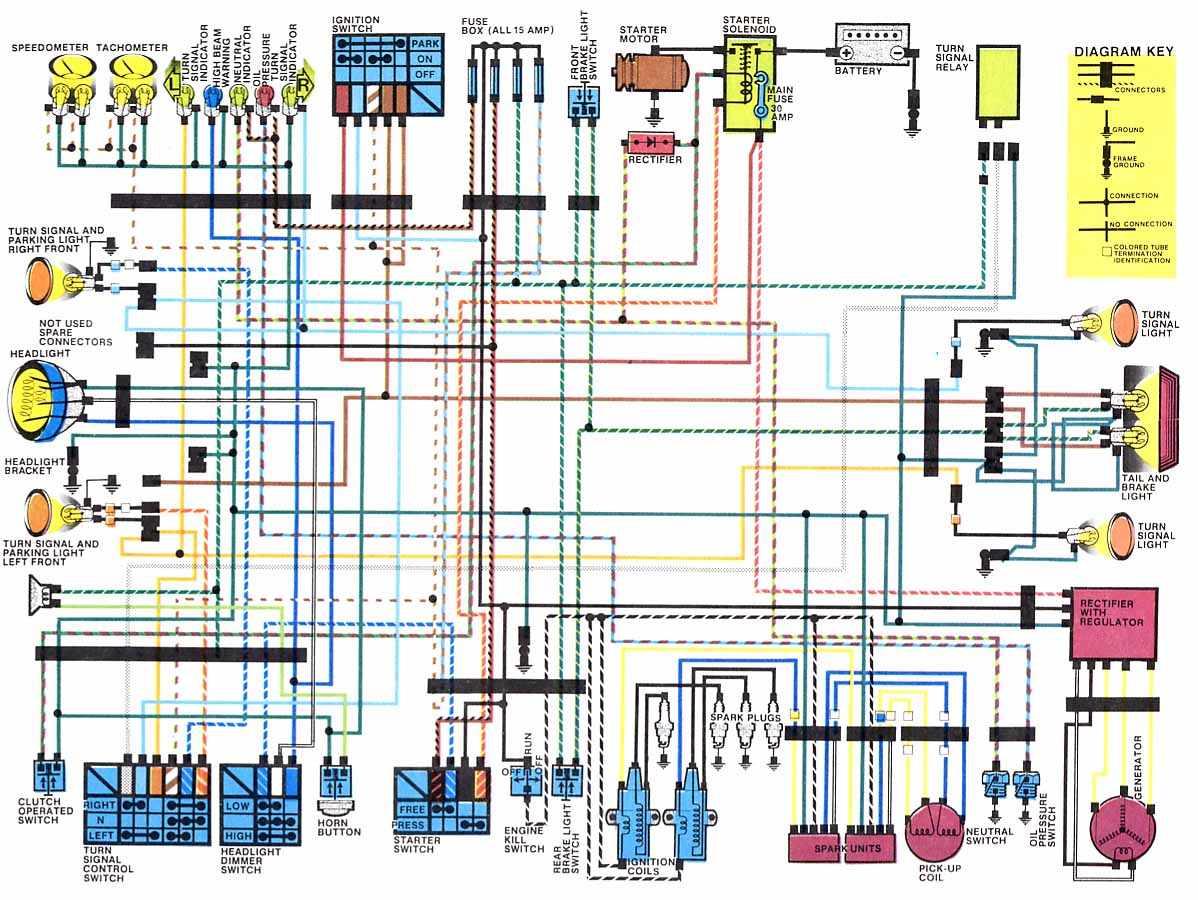 honda cb650 nighthawk wiring diagram