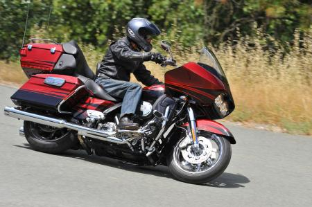 The Road Glide Ultra has a vast array of accoutrements to make its riders as comfy and entertained as possible. Heated seats and grips, dual backrests, cruise control, audio system and ABS only touch on a few of its features.