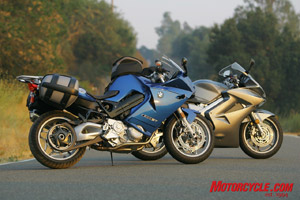2008 Middleweight Sport Touring Shootout Bmw F800st Vs