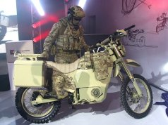 Kalashnikov Unveils Electric Motorcycle