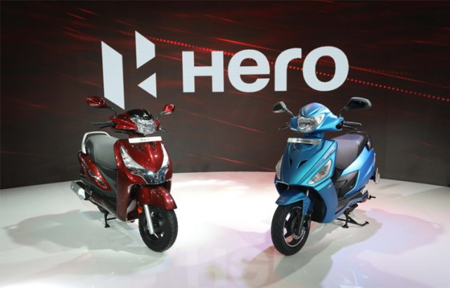 Hero Duet 125 and Hero Maestro Edge 125