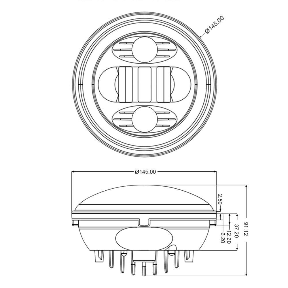 wiring halo headlights