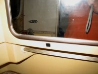 '81 Excella Center Bath Medicine Cabinet Latch - Airstream ...