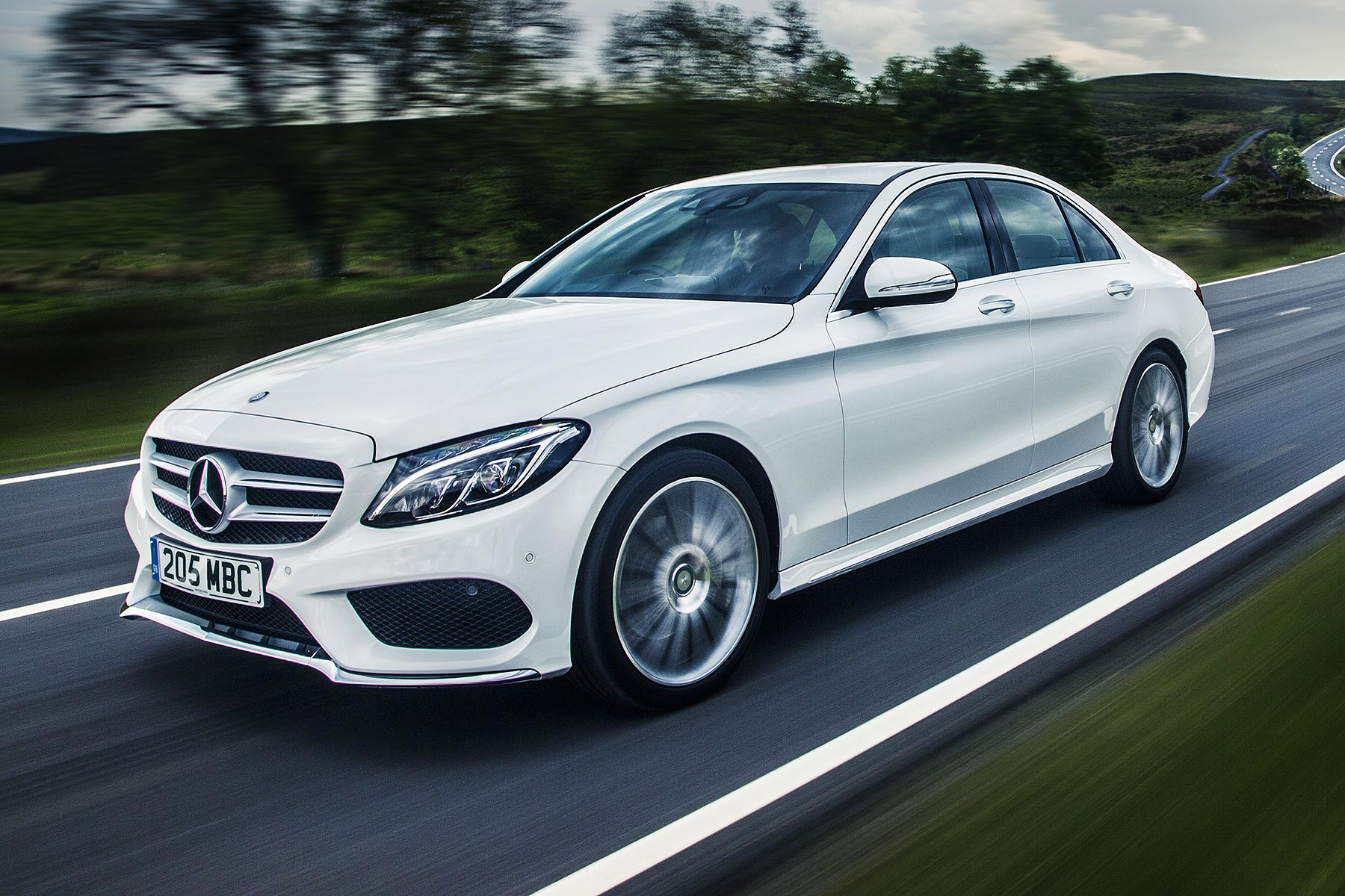 mercedes benz c 250 d amg line review 2015 road test motoring research