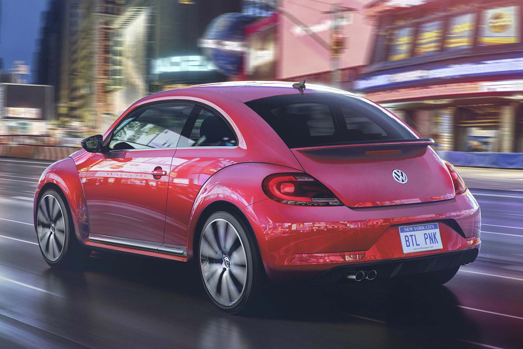volkswagen has launched a pink beetle called pinkbeetle motoring research. Black Bedroom Furniture Sets. Home Design Ideas