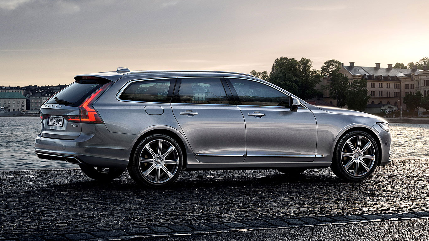 2017 volvo v90 review luxury wagon takes on the germans motoring research. Black Bedroom Furniture Sets. Home Design Ideas