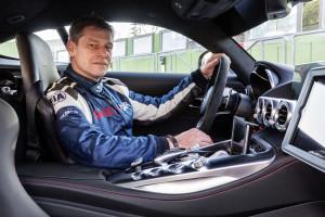 Bernd Mayländer, seit 2000 Fahrer des Official Safety Car der F