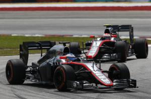 Fernando Alonso and Jenson Button.