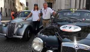 Lancia Takes Part In The Millemiglia 2015