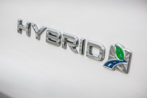 FordMondeo Hybrid badge