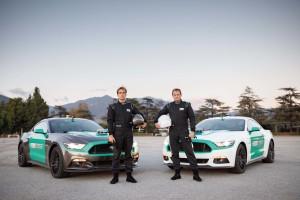 Castrol Virtual Racers - Matt Powers (sinistra) e Ben Collins (destra) p...