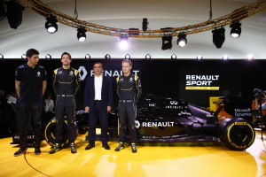 AUTO - RENAULT SPORT F1 LAUNCH  - 2016