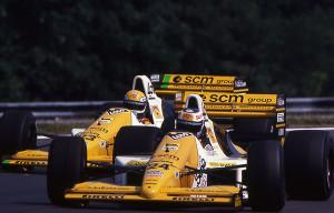 1989 Minardi-Ford Consworth M189 piloti Sala e Martini - Archivio Minardi Team