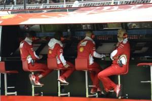 muretto ferrari arrivabene GP GRAN BRETAGNA F1/2016