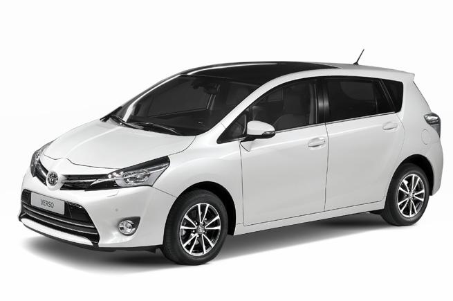 Toyota Verso The Compact Seven Seat Mpv