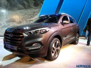 2016 Hyundai Tucson 24 [Updated Gallery] Auto Expo 2016: Hyundai unveils all new Tucson; showcases sub 4 meter SUV Concept for India (Hyundai Carlino)