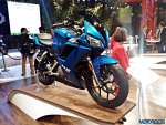 Hero HX25 Auto Expo 2016 8 Auto Expo 2016: Hero MotoCorp HX250 revealed in production trim, drops the R [Gallery Updated]