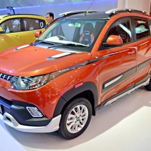 Auto Expo 2016: Mahindra KUV100 Xplorer edition showcased