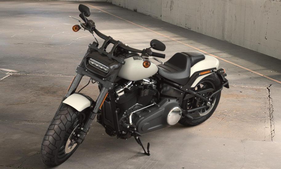 Black And Gray Wallpaper Harley Davidson Softail Fat Bob 2018 Farben Und Preise