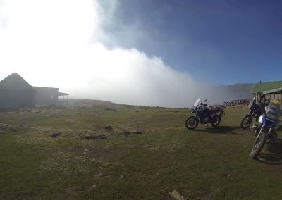 SANI PASS CHALETS AT TOP
