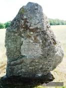 Die Inschrift erinnert an Huldreich Heußer und Otto Feldmann