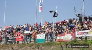 Die Fans waren trotz über 30 Grad im Schatten in Scharen zum Saisonhöhepunkt in die Motorsport Arena geströmt.