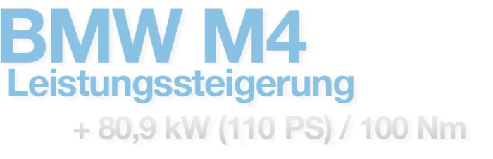 BMW M4 Leistungssteigerung