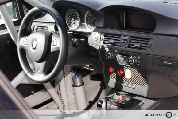 BMW M3 E92 Clubsport Auto Innenansicht